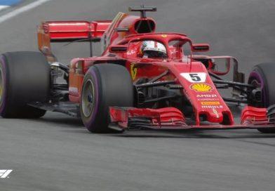O Vettel κατέκτησε την Pole Position στην Γερμανία