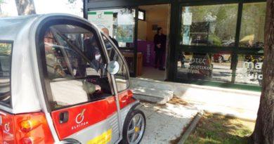 Τρίκαλα: Ήρθαν τα δωρεάν ηλεκτροκίνητα οχήματα για τους πολίτες
