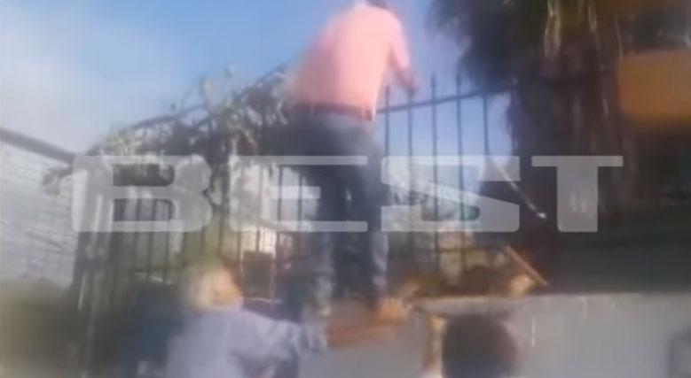 Καλαμάτα: Πατέρας πάει να μπει σε κατάληψη και του έρχεται καρέκλα