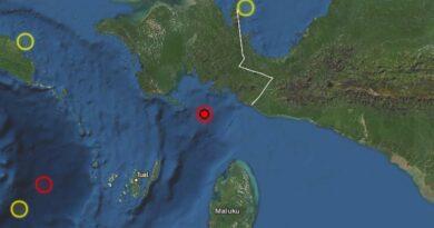 Σεισμική δόνηση μεγέθους 5.9 Ρίχτερ στην Ινδονησία